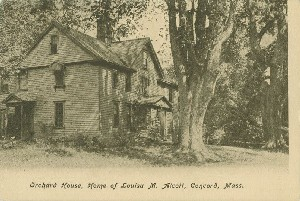 Orchard House, Home of  	Louisa May Alcott, Concord, Mass.; early 20th century