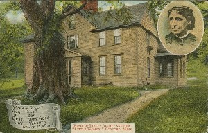 Home of Louisa Alcott and  	her 'Little Women,' Concord, Mass.; early 20th century