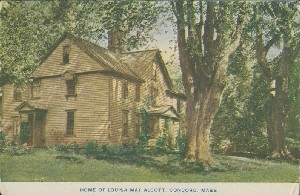 Home of Louisa May Alcott,  	Concord, Mass.; early 20th century