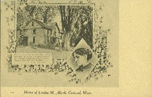 Home of Louisa M. Alcott,  	Concord, Mass.; early 20th century