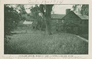 Orchard House, home of  	the Alcotts, Concord, Mass.; circa 1914 (dated note)