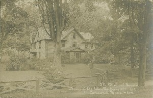 The Orchard House, Home  	of the Alcotts from 1858-1882, Concord, Mass.; early 20th century