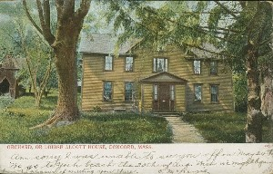 Orchard, or Louise Alcott  	House, Concord, Mass.; circa 1906 (postmark)