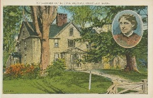 Home of Louisa Alcott,  	Concord, Mass.; early to mid- 19th century