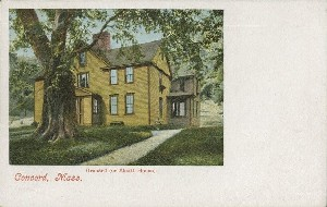 Orchard (or Alcott House).,  	Concord, Mass.; early 20th century