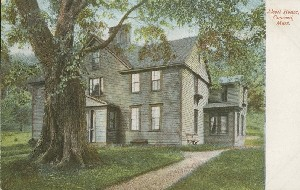 Alcott House, Concord,  	Mass.; early 20th century