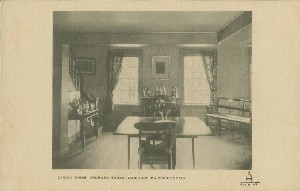 Dining room, Orchard House, 	 Concord, Massachusetts; early 20th century