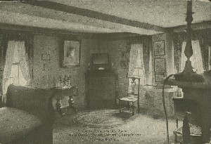 Louisa May Alcott's Room in  	the Orchard House, Concord, Massachusetts; early to mid- 20th century