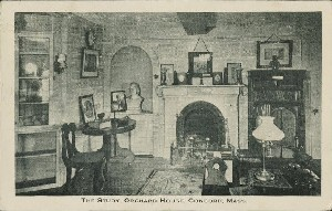 The Study, Orchard House,  	Concord, Mass.; early to mid- 20th century