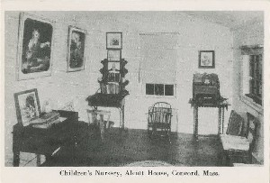 Children's nursery, Alcott  	House, Concord, Mass.; early to mid- 20th century