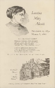 Louisa May Alcott; mid- to  	late 20th century