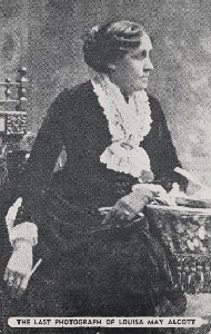 The last photograph of  	Louisa May Alcott; 20th century