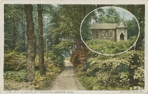 Path to the School of  	Philosophy, Concord, Mass.; early to mid- 20th century