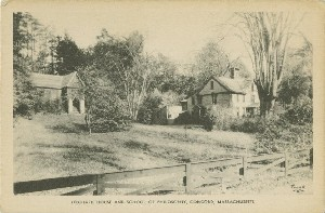 Orchard House and School  	of Philosophy, Concord, Massachusetts; early to mid- 20th century