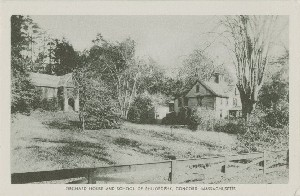 Orchard House and School  	of Philosophy, Concord, Massachusetts; early 20th century
