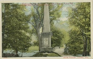 British Monument,  	Concord, Mass.; early 20th century