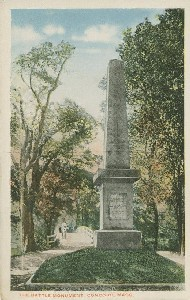 The Battle Monument,  	Concord Mass; early to mid- 20th century