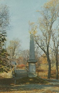 Battle Monument,  	Concord, Massachusetts; mid- to late 20th century