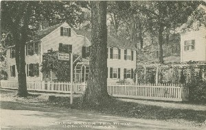Green Arbor Tea Room,  	Concord, Mass.; early 20th century