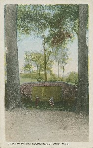 Grave of the British Soldiers;  	early 20th century
