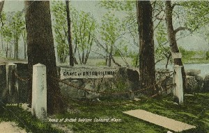Grave of British Soldiers,  	Concord, Mass.; early 20th century