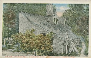 The Home of Ephraim Bull,  	Originator of the Concord Grape, Concord, Mass.; early 20th century