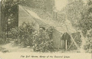 The Bull House, Home of  	the Concord Grape; early 20th century