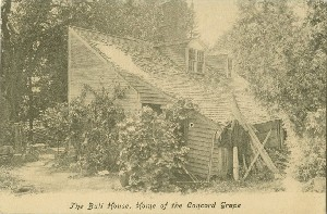The Bull House, Home of  	the Concord Grape;