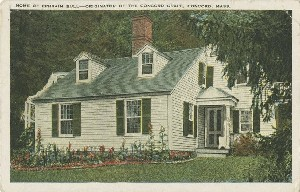 Home of Ephraim  	Bull—Originator of the Concord Grape, Concord, Mass.; early 20th century