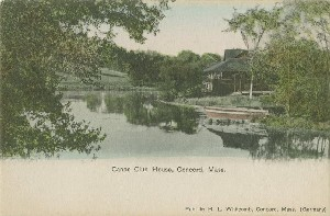 Canoe Club House, Concord, 	 Mass.; early 20th century