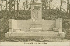 The Melvin Memorial,  	Concord, Mass.; early 20th century