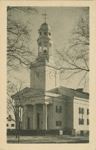 First Parish Church,  	Concord, Massachusetts; early 20th century