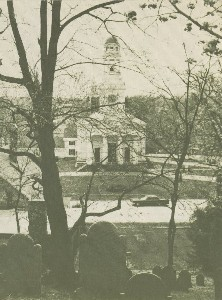 The First Parish Meeting  	House, Concord, Massachusetts; 1970 (copyright date)