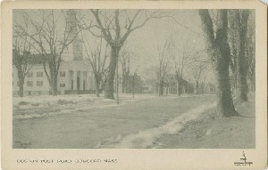 Boston Post Road, Concord  	Mass.; early 20th century
