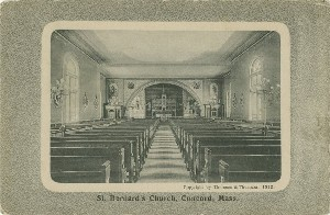 St. Bernard's Church,  	Concord, Mass.; 1912 (copyright date)
