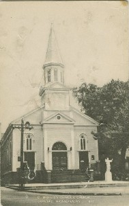 St. Bernard's Catholic  	Church, Concord, Massachusetts; early 20th century