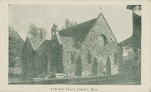 Episcopal Church, Concord,  	Mass.; early 20th century