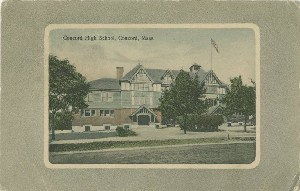Concord High School,  	Concord, Mass.; early 20th century