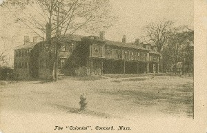 The 'Colonial', 	 Concord, Mass.; early 20th century