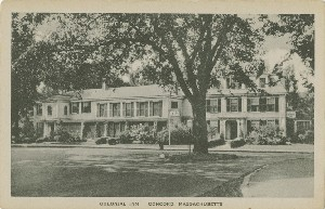 Colonial Inn Concord,  	Massachusetts; early 20th century