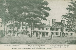 Now the Colonial Inn; early  	to mid- 20th century