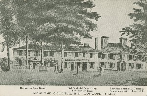 Now the Colonial Inn; early  	20th century