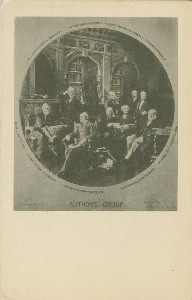 Author's Group; early  	20th century