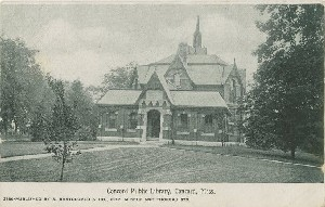 Concord Public Library,  	Concord, Mass.; early 20th century