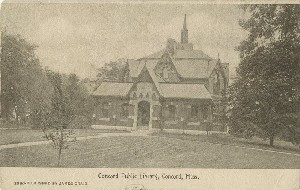 Concord Public Library;  	early 20th century