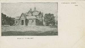 Public Library; early 20th  	century