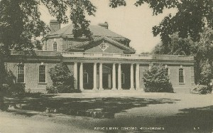 Public Library, Concord,  	Massachusetts; early 20th century