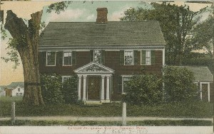 Concord Antiquarian  	Society Building, Concord, Mass.; circa 1917 (note date)