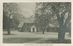 The Antiquarian  	Society, Concord, Massachusetts.; early to mid- 20th century