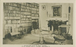 The Study of Ralph  	Waldo Emerson, The Antiquarian Society, Concord, Massachusetts; early to mid- 20th century